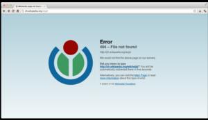 Pagina de eroare 404