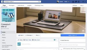 Cum se face administarea paginilor de Facebook
