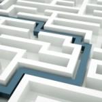 Scutatura din labirint