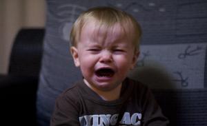 Copilul suparat